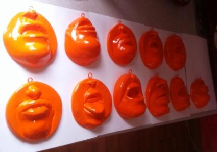 Glenn Davison Sculpture, Family Tree 'Fruits'