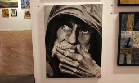 Glenn Davison's New York Tramp painting